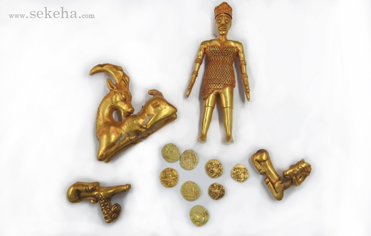 Achaemenid Empire Gold Coins and Antiques
