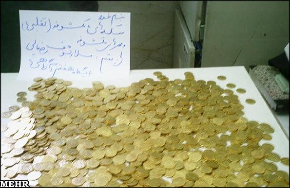 کشف 530 سکه تقلبی در اهواز