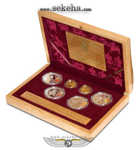 اهدای مدال های یادبود المپیک 2008 پکن به موزه آستان قدس رضوی