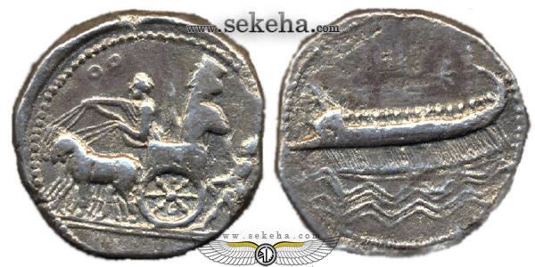 سکه صیدا مطعلق به اردشیر سوم هخامنشی